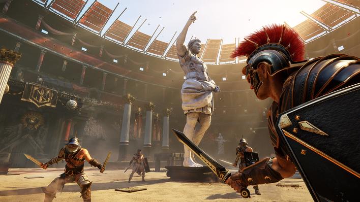 microrrelato los gladiadores